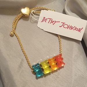 Betsey Johnson gummy bears bracelet NWT